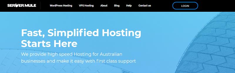 servermule australian hosting
