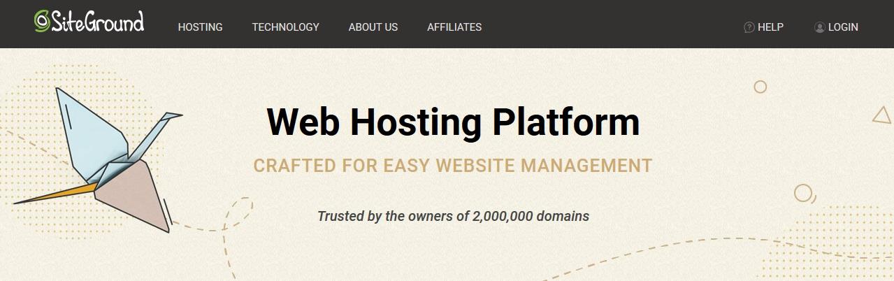 Siteground Hosting